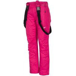 [T4Z15-SPDN005T] Spodnie narciarskie damskie SPDN005T - fuksja