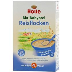 HOLLE 250g Reisflocken Kaszka BIO ryżowa pełnoziarnista po 4 miesiącu