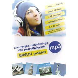 Angielski dla początkujących na MP3. Lekcje 1-80, dialogi 1-20. Kurs dla początkujących (PAKIET 2 x CD MP3)