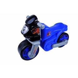 Big, Jeździk dziecięcy, Motor Classic, Niebieski Darmowa dostawa do sklepów SMYK