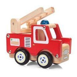 Drewniany samochód straż pożarna