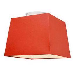 Plafon Ton 30 kwadratowy czerwony