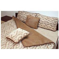 Camel 180x200 45x75 fala kołdra poduszki wełna