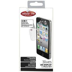 folie do telefonow folia ochronna ekranu x12 do apple iphone 4 a1332 ... 0ef9a9cbbb7