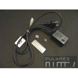 Zestaw zasilający z programatorem IP44 do węża 13mm. 230V (0-20 mb.)