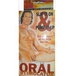 Masturbator Oral stimulator Efekt ssania żołędzia 3400