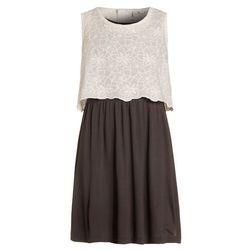 TOM TAILOR 2IN1 Sukienka z dżerseju soft clear white