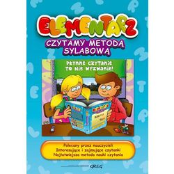 Elementarz Czytamy metodą sylabową (opr. twarda)