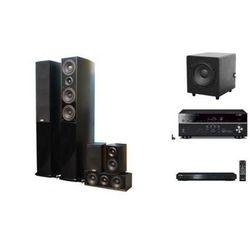 YAMAHA RX-V479 + BD-S477 + TAGA BLUE + TSW-90 - Kino domowe - Autoryzowany sprzedawca