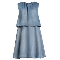 limited by name it NITSISIELGA Sukienka jeansowa light blue denim