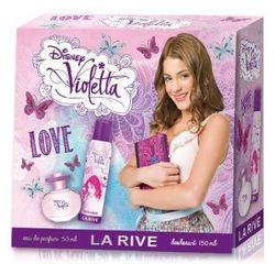 La Rive La Rive for Woman Violetta Love Zestaw /edp50ml+deo150ml/