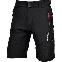Męskie MTB rowerowe spodnie Silvini Rango MP857 black-red