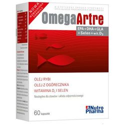 Omega Artre 60 kapsulek - w celu zachowania lepszej sprawności stawów Kurier: 13.75, odbiór osobisty: GRATIS!