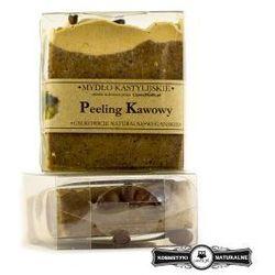 Mydło kastylijskie peeling kawowy - Czyste mydło
