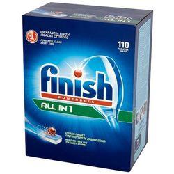 FINISH 110szt Powerball All in 1 Tabletki do mycia naczyń w zmywarkach