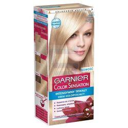 Garnier Color Sensation Intensywnie trwały krem koloryzujący do włosów Jedwabisty Beżowy Superjasny Blond nr 113