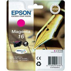 Epson oryginalny ink C13T16234010, T162340, magenta, 3.1ml, Epson WorkForce WF-2540WF, WF-2530WF, WF-2520NF, WF-2010