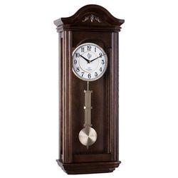 Zegar JVD z wahadłem, N9360.3, ciemny orzech