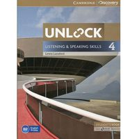 Unlock: Listening & Speaking Skills 4. Podręcznik + Online Workbook (opr. miękka)