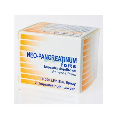 Neo-pancreatinum Forte 10.000j X 20 Kaps