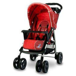 Wózek spacerowy Monaco czerwony