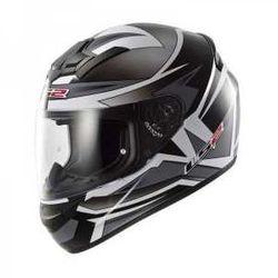 KASK MOTOCYKLOWY LS2 FF352 ROOKIE Gamma Black TITANIUM