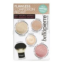 BelláPierre Flawless Complexion Pro Kit zestaw kosmetyków II. + do każdego zamówienia upominek.
