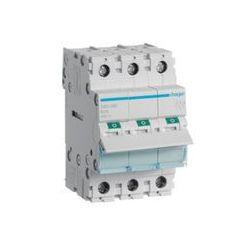 Hager - Modułowy rozłącznik izolacyjny, 3P 100A - SBN390