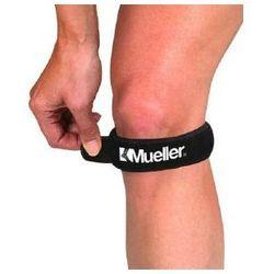 Opaska podrzepkowa Mueller na kolano - Czarny   Czerwony