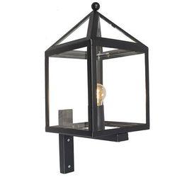 Zewnętrzna lampa ścienna Amsterdam 1 czarna