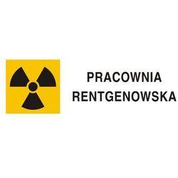 Znak ostrzegawczy do oznakowania pracowni rentgenowskiej