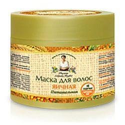Maska do włosów jajeczna odżywcza 300 ml - receptury babci agafi - agafi