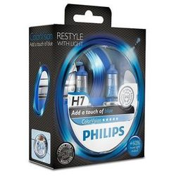 Żarówka Philips - H7 55W Px26d 12V ColorVision Blue - 2 sztuki
