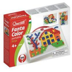 BELUGA Quercetti - Układanka mozaika Fanta Color Portable Large 300