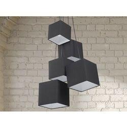 Lampa sufitowa wiszaca - zyrandol czarna - oswietlenie - MESTA