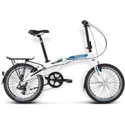 Rower składak Kross Flex 2.0 biało niebieski czarny mat WYSYŁKA GRATIS!!!