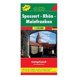 Niemcy Spessart-Rhon-Mainfranken mapa T10T 1:150 000 Freytag & Berndt (opr. twarda)