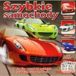 Mini encyklopedia z naklejkami Szybkie samochody (opr. miękka)