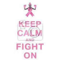 Plakat Świadomości raka piersi wiadomość