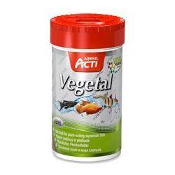 AQUA EL Acti Vegetal - pokarm płatkowany dla ryb roślinożernych 100ml