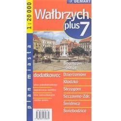 Wałbrzych Plus 7 Plan miasta (opr. miękka)