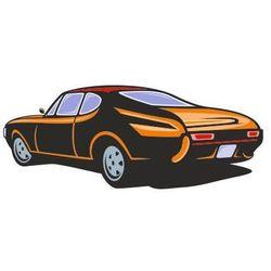 Naklejka kolorowa samochód 127