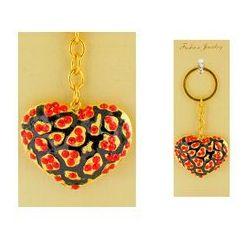 Breloczek do kluczy - serce