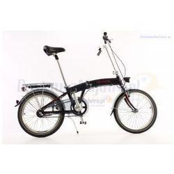 Aluminiowy rower składany SKŁADAK MIFA 3-BIEGI SHIMANO NEXUS czarny