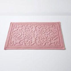 Dywanik łazienkowy, DAMASK, wytłaczane wzory, bawełna (1500g/m²)