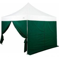 Rovens.pl 2 ścianki boczne marki STILISTA® do pawilonu ogrodowego 3 x 3 m, kolor zielony