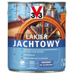 Lakier jachtowy Bezbarwny 2,5l jedwabny/połysk V33