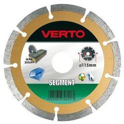 Tarcza do cięcia VERTO 61H3S1_C 115 x 22.2 diamentowa segmentowa