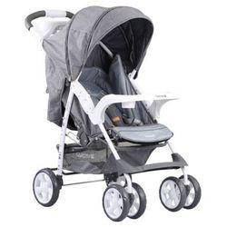 Adamex, Quatro Imola, wózek spacerowy, szary Darmowa dostawa do sklepów SMYK