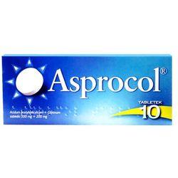 Asprocol, 10 tabletek